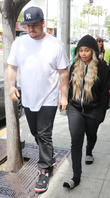 Rob Kardashian And Blac Chyna Reveal They Are Expecting A Girl On E! Reality Show
