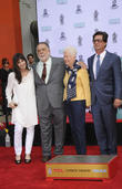Francis Ford Coppola, Eleanor Coppola, Talia Shire and Roman Coppola