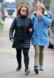 Nadia Sawalha and Kaye Adams