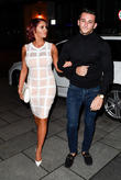 Amy Childs and Dino Warren