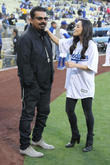 George Lopez and Aimee Garcia