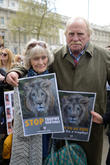 Virginia Mckenna and James Cosmo