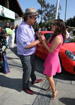 George Lopez and Eva Longoria