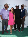 George Lopez, Eva Longoria, Cedric The Entertainer and Arsenio Hall