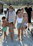 Kourtney Kardashian, Mason Disick, Reign Disick and Penelope Disick