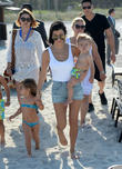 Kourtney Kardashian, Reign Disick and Penelope Disick