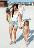 Kourtney Kardashian, Reign Disick and Penelope Disick