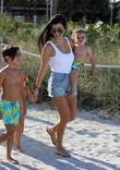 Kourtney Kardashian, Mason Disick and Reign Disick