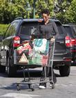 Nicole Murphy at Beverly Hills and Bristol Farms