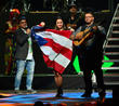Carlos Vives, Edgar Rios, Mayda Belen, Quique Domenech and Tres
