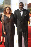 Naiyana Garth and Idris Elba