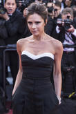 Victoria Beckham Dances To Bee Gees In Times Square
