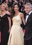 Julia Roberts, Amal Clooney and George Clooney