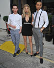 Lorcan London, Ashley James and Scott Saunders
