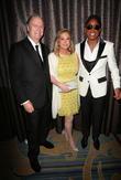 Richard Hilton, Kathy Hilton and Jermaine Jackson
