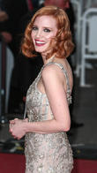 Jessica Chastain Feels Lauren Bacall's Spirit Through Old Armchair