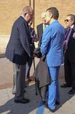 Juan Carlos I and José Ortega Cano