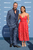Taylor Kinney and Monica Raymund