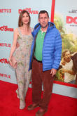 Jackie Sandler and Adam Sandler