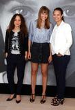 Houda Benyamina, Alice Winocour and Isabelle Giordano