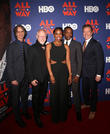 Jay Roach, Robert Schenkkan, Hilary Ward, Anthony Mackie and Bryan Cranston