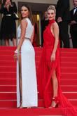 Rosie Huntington-whiteley and Alessandra Ambrosio