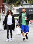 Adam Sandler and Jackie Sandler