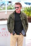 Sean Penn at Palais De Festivals and Cannes Film Festival