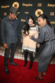 Terrence Howard, Miranda Pak and Taraji P. Henson