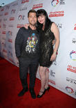 Lance Bass and Pauley Perrette