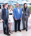Jean-francois Richet, Erin Moriarty and Mel Gibson