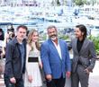 Jean-francois Richet, Erin Moriarty, Mel Gibson and Diego Luna