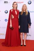 Diane Kruger and Fabienne Berthaud