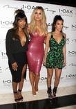 Malika Haqq, Khloe Kardashian and Kourtney Kardashian