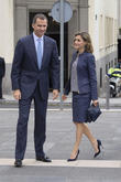 King Felipe Vi Of Spain and Queen Letizia Of Spain