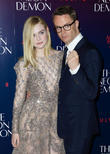 Elle Fanning and Nicolas Winding Refn