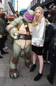Teenage Mutant Ninja Turtles and Naomi Isted
