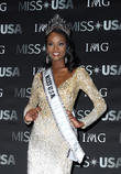 Miss Usa, Deshauna Barber and Miss District Of Columbia at T-mobile Arena