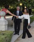 Mario Vargas Llosa and Isabel Preysler