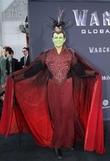 Jamie Lee Curtis And Son Attend Warcraft Premiere In Full Costume