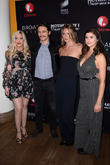 Tori Spelling, James Franco, Leila George and Amber Coney