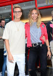 Oliver Proudlock, Emma Lou Connolly and Guest