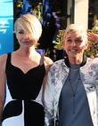 Portia De Rossi and Ellen Degeneres at El Capitan Theatre and Disney