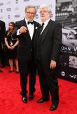 Steven Spielberg and George Lucas