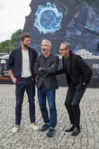 Chris Hemsworth, Roland Emmerich and Jeff Goldblum