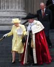 Queen Elizabeth Ii, Lord Mayor Of London Jeffrey Evans, Prince Phillip and Duke Of Edinburgh