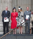 Princess Eugenie Of York, Prince Andrew, Duke Of York, Princess Beatrice Of York and Prince Edward