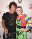 Billy Morrison and Kelly Osbourne