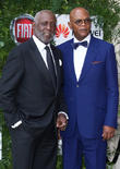 Richard Roundtree and Samuel L. Jackson
