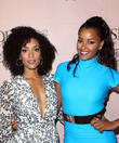 Annie Ilonzeh and Claudia Jordan